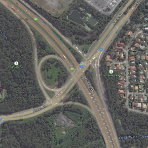 Bruce Highway Anzac Ave Intersection