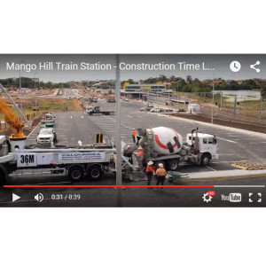 Time Lapse Video of Mango Hill Train Station