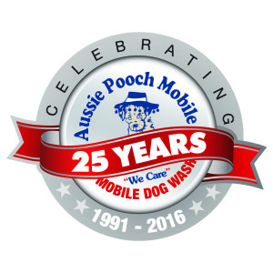 25 Year Logo mobile Dog wash