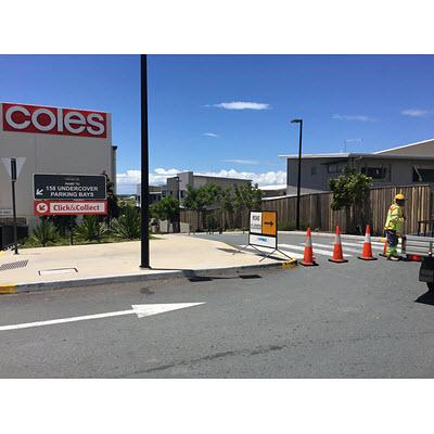 Mango-Hill-Market-Place-Bowen-Street-exit-closed