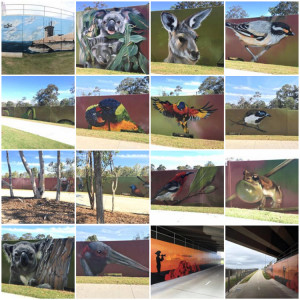 redcliffe-rail-line-pathway-murals-collage